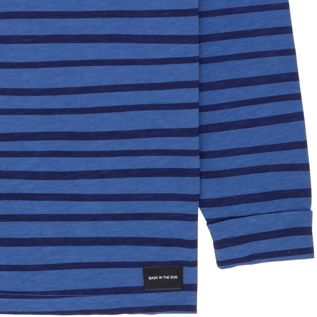 T-shirt en coton bio blue esperanza ls - Bask in the Sun num 3