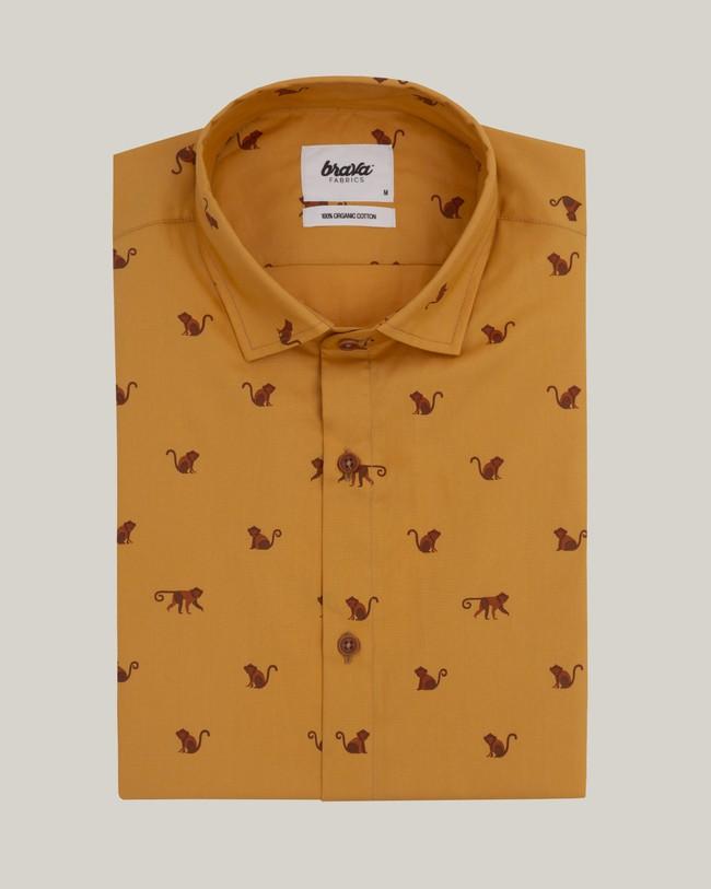 Monkey monkey printed shirt - Brava Fabrics num 1