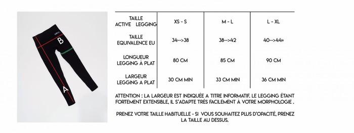 Guide de taille Nosc