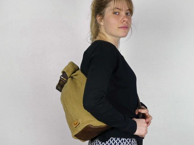 Petit sac à dos bandoulière - balish - Bhallot num 1