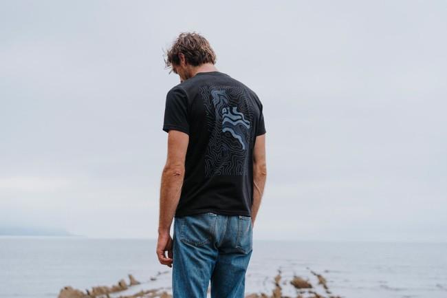 T-shirt recyclé - topo stream - Hopaal num 5
