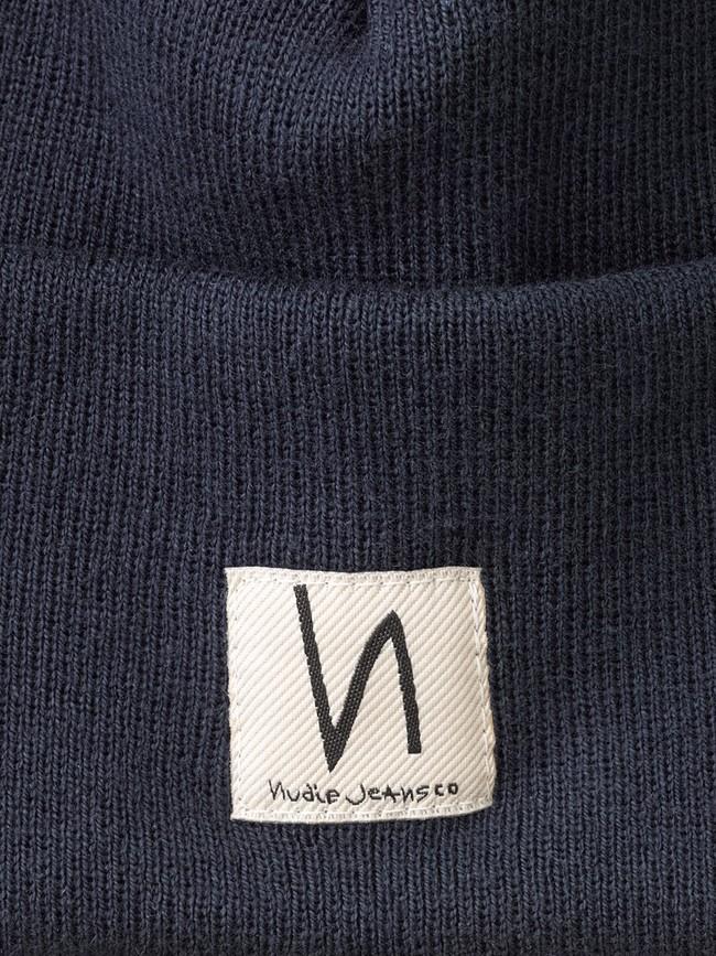 Bonnet marine en coton bio - falksson - Nudie Jeans num 1