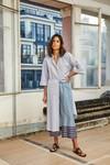 Pantalon provence // bleu - Bagarreuse - 4