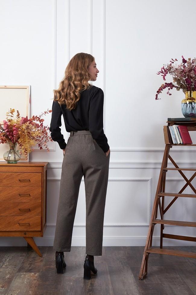 Pantalon krabe tweed - Les Récupérables num 1
