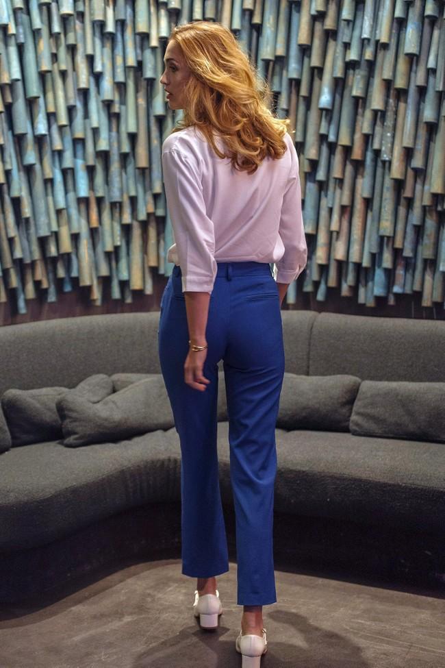 Pantalon tailleur new-york bleu royal - 17h10