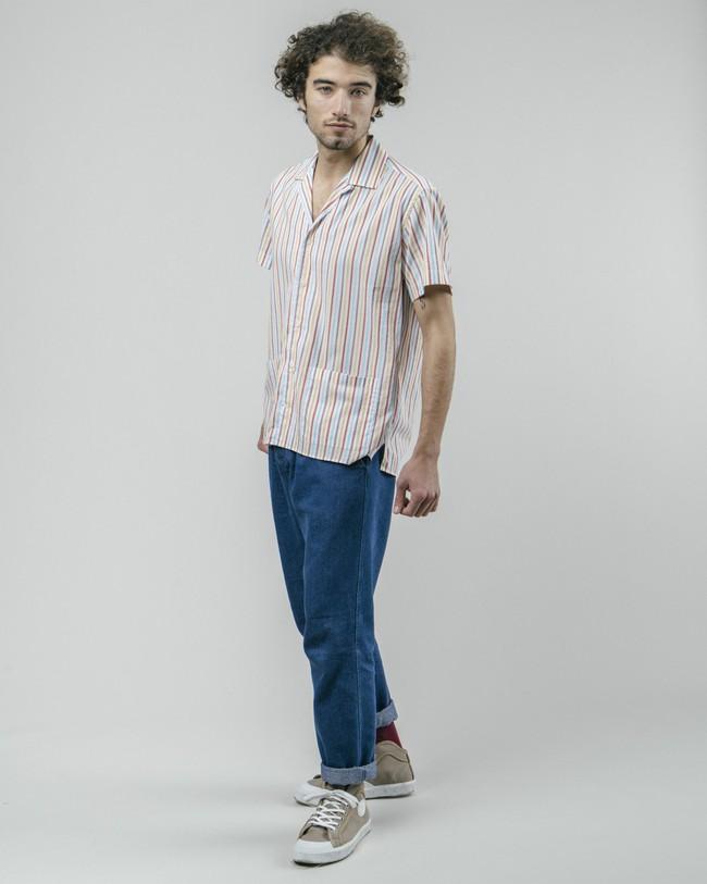 Downtown stripes aloha shirt - Brava Fabrics num 3