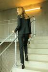 Pantalon tailleur new-york vert profond - 17h10 - 7