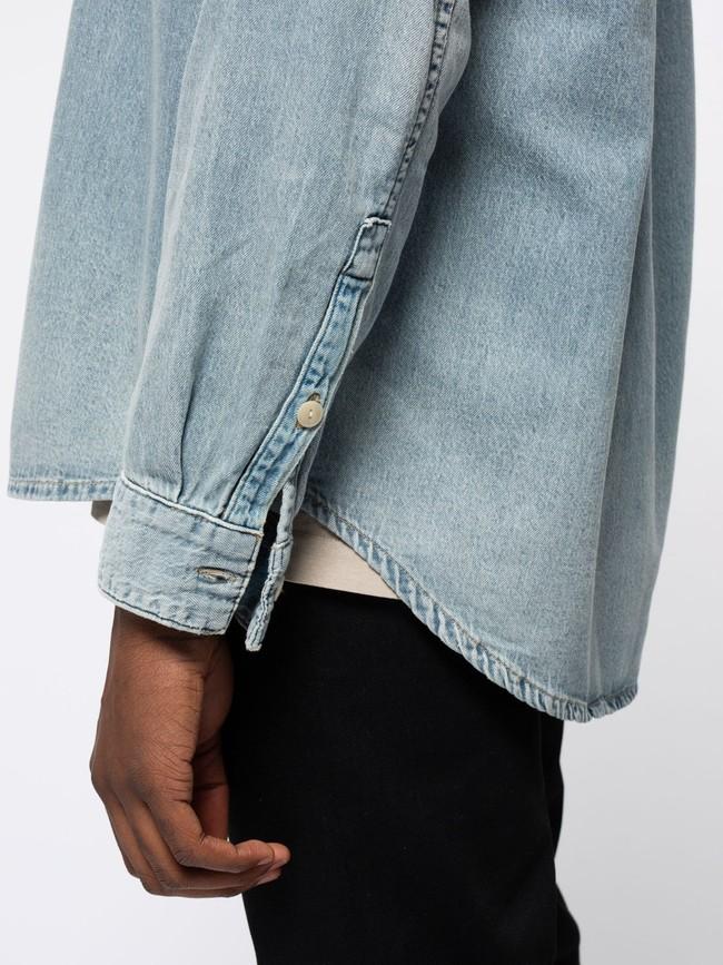 Chemise jean en coton bio - albert - Nudie Jeans num 6