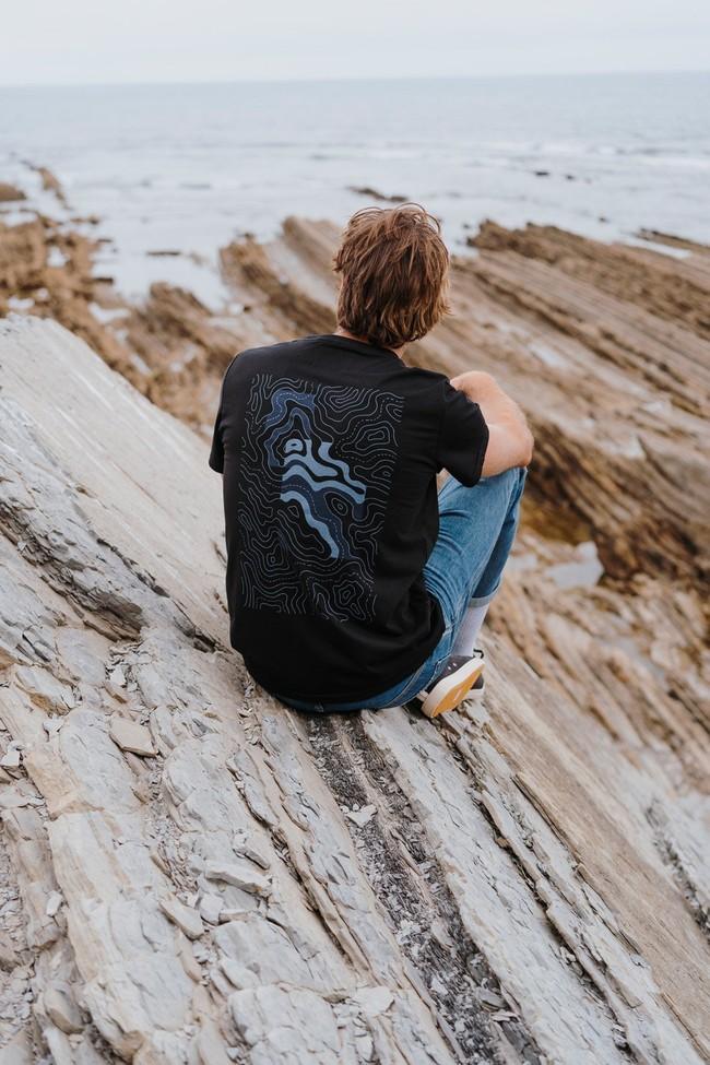 T-shirt recyclé - topo stream - Hopaal num 3