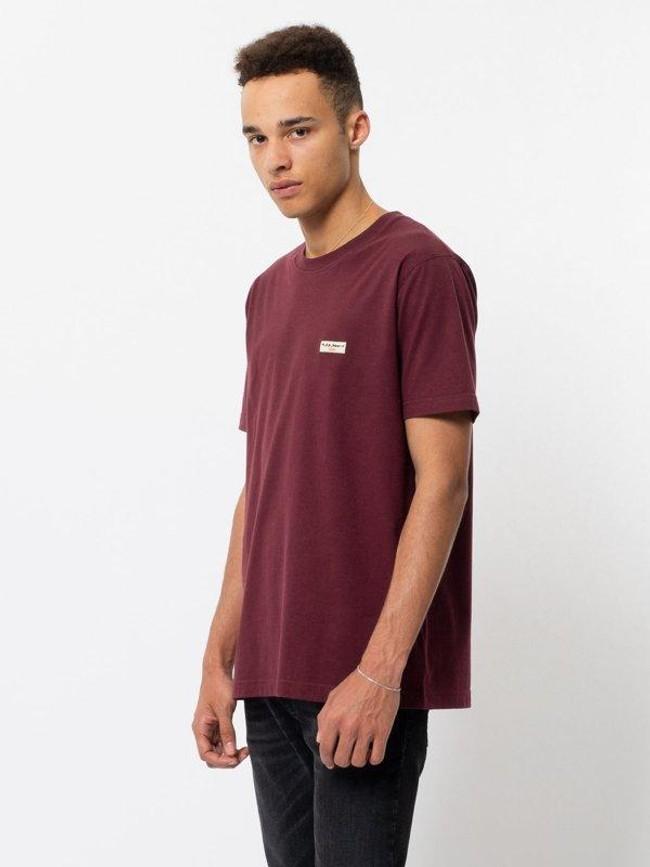 T-shirt figue en coton bio - daniel - Nudie Jeans num 1