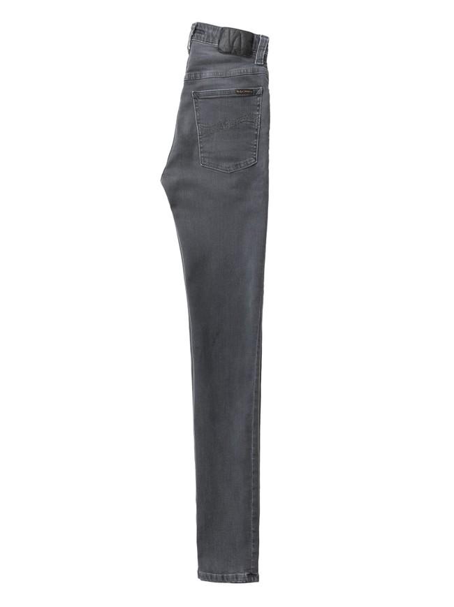 Jean skinny taille haute gris - hightop tilde concrete grey - Nudie Jeans num 6
