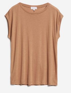 T-shirt camel en tencel - jilaa - Armedangels num 4