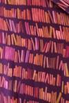 """Top """"hirondelle"""" col rond motif librairie - Bleu Tango - 4"""
