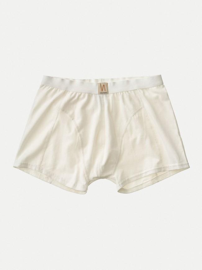 Boxer blanc en coton bio - Nudie Jeans